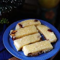 西米红枣糕