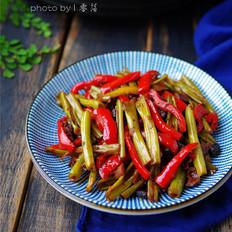 豆豉空心菜