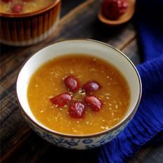 红枣红糖粥