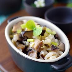 椎茸鲜味煲仔饭