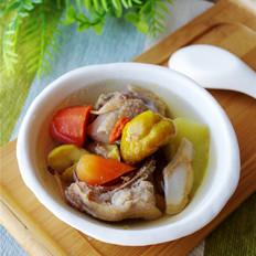 萝卜板栗鸡汤