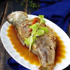 【年年有余】红烧鲈鱼