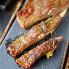 年夜饭硬菜之黑椒烤羊排