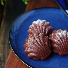 巧克力贝壳蛋糕