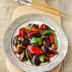 双椒烧香菇