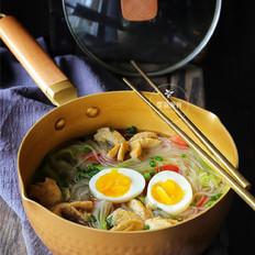 低脂魔芋粉丝汤的做法