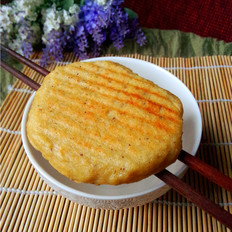 咸香豆渣饼