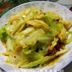香辣卷心菜