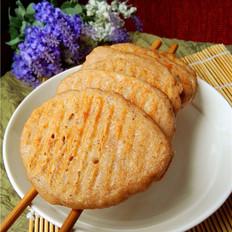 香甜豆渣饼