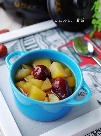 苹果红枣汤的做法