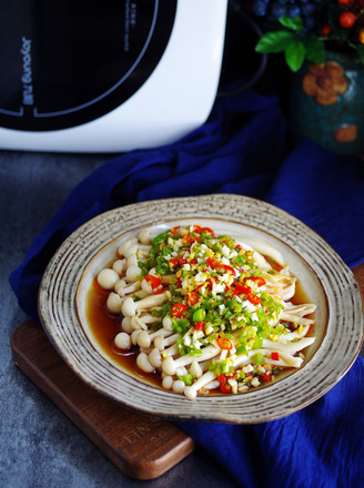 凉拌海鲜菇的做法