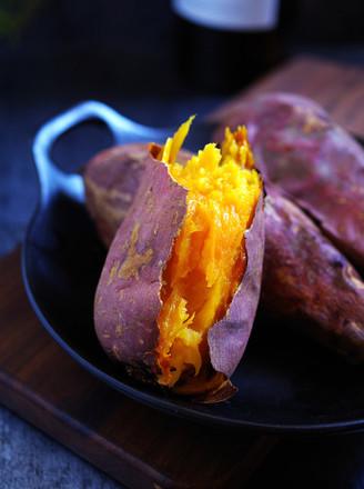 香甜烤红薯的做法