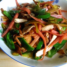 炒素豆腐干