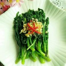 清炒蒜味茼蒿菜