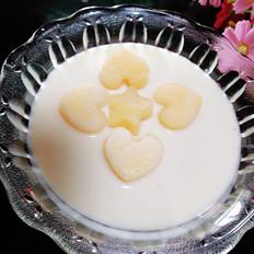 酸奶哈密瓜