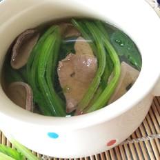 菠菜猪肝汤的做法大全