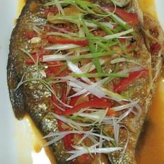 午餐---焖鳊鱼