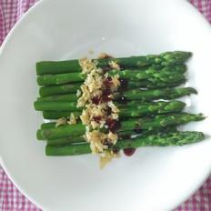 晚餐--蚝油蒜香芦笋