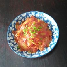 素炒红萝卜