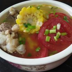 排骨番茄玉米汤