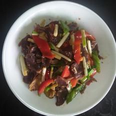 韭黄炒郡肝