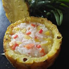 菠萝糯米饭