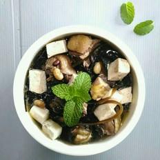 鸡肉海带豆腐汤