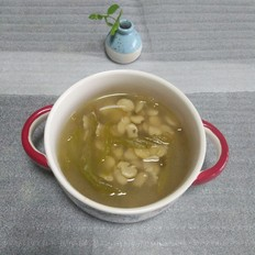 酸菜胡豆瓣汤