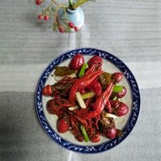 酸菜小龙虾