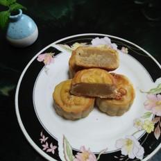 绿豆沙月饼