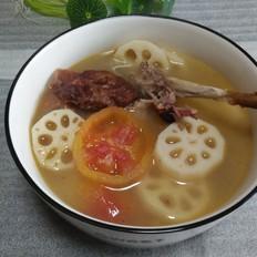 烤鸭骨架汤