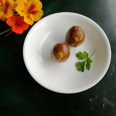 香菜叶卤鸡蛋