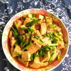 豆腐韭菜香