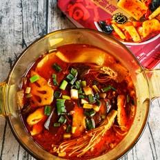 麻辣速食蔬菜锅