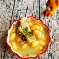 猪筒骨雪豆汤