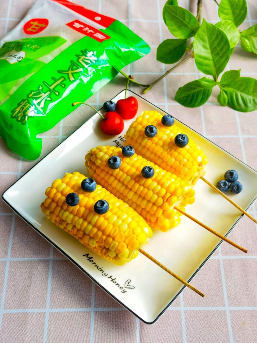 冰糖水果玉米的做法