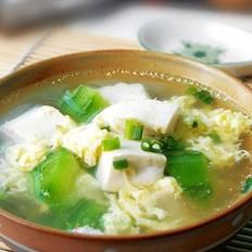 丝瓜豆腐鸡蛋汤