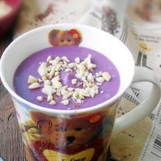紫薯花生奶