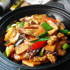 干锅海鲜脆豆腐
