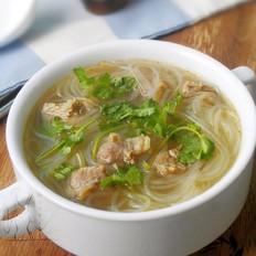 咖喱牛腩粉丝汤