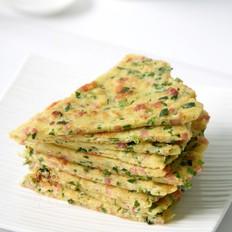 燕麦韭菜鸡蛋饼