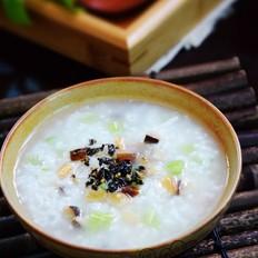 芹菜香菇虾米粥