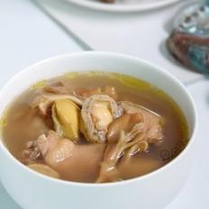 灰树花鲜鲍鱼鸡汤