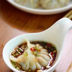 虫草花鸡肉饺子