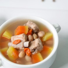 花生木瓜排骨汤