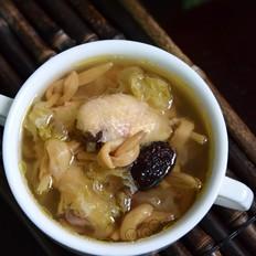 黄花菜银耳黑枣鸡汤