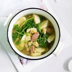 双丸干贝西洋菜汤