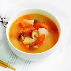 香菇番茄萝卜汤