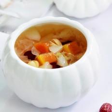 红枣雪梨木瓜汤