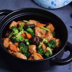 香菇烧油豆腐